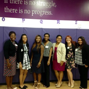 Participated on the career panel for the KIPP Voyage Young Ladies Leadership Conference, and gave advice to young girls on choosing the right college and career path.